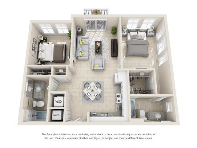 Floorplan B1 Corner Image