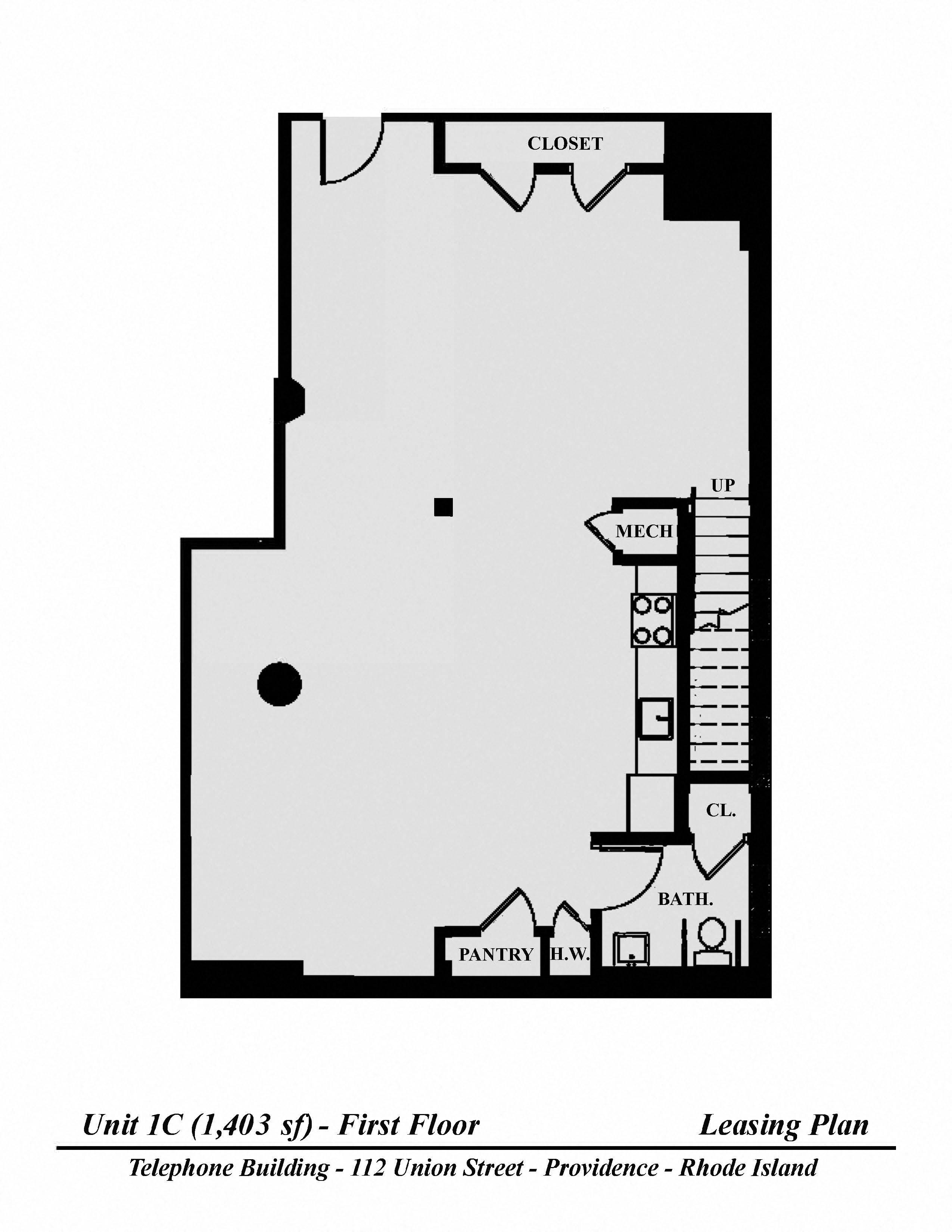 Floor plan Studio image 2