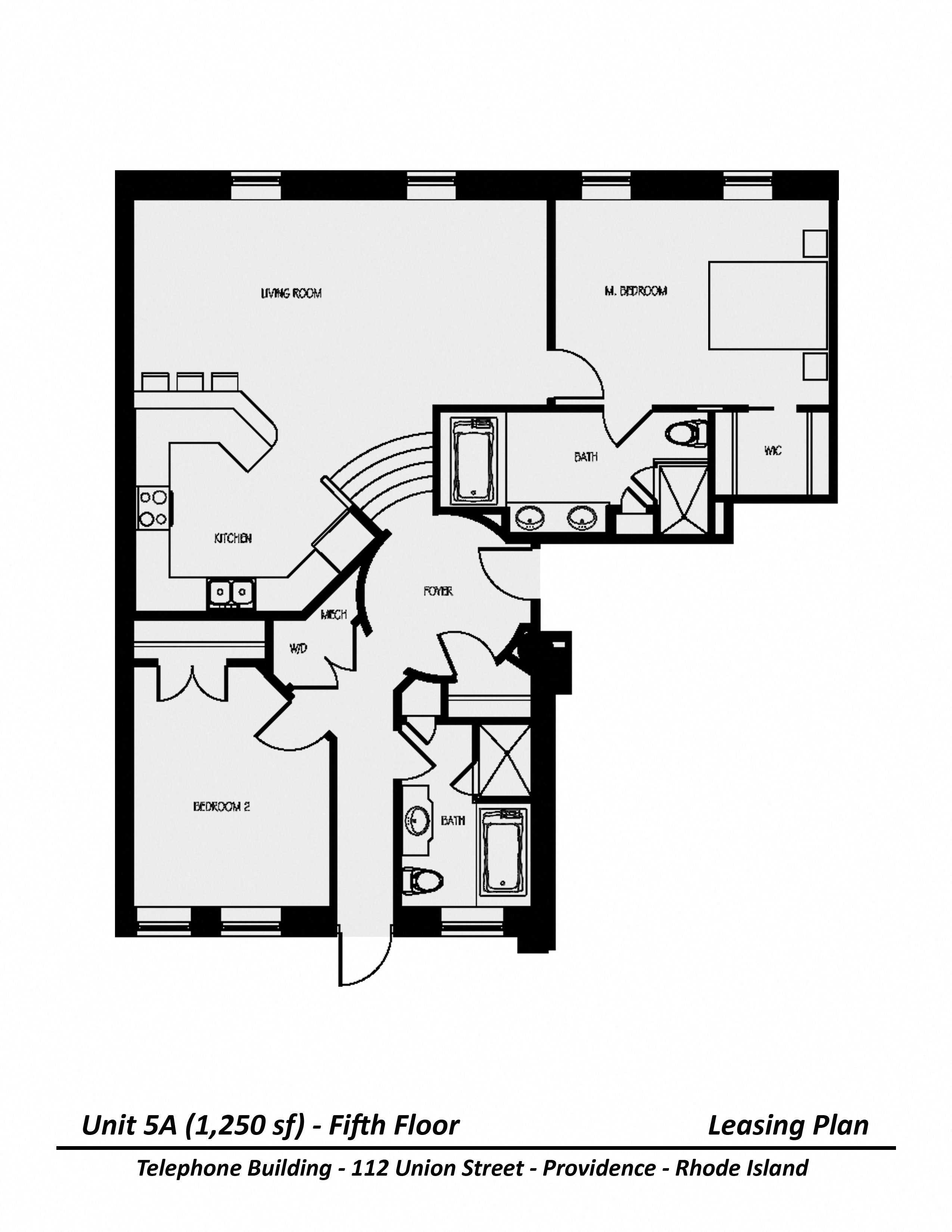 Click to view Floor plan Two Bedroom image 8