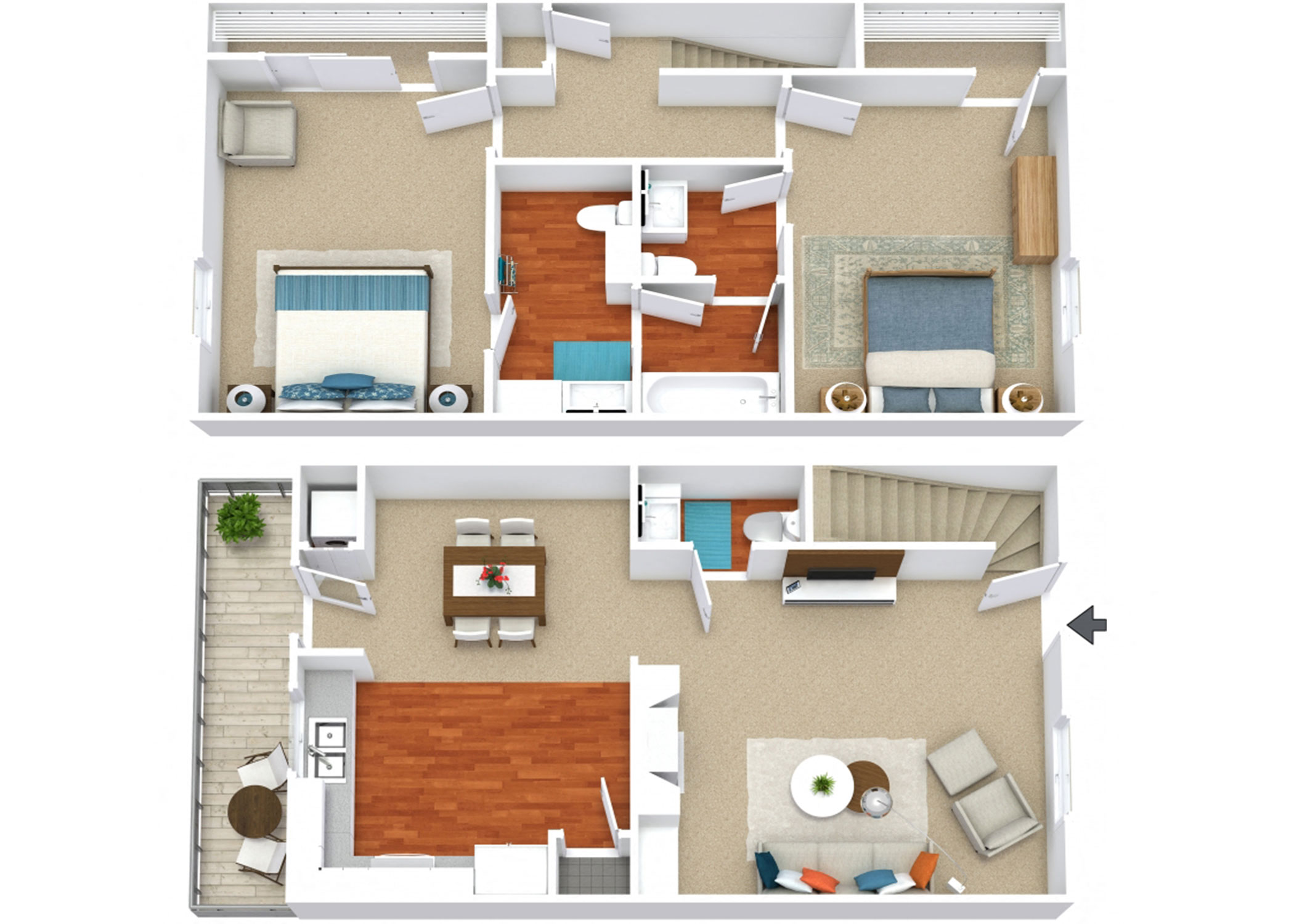 Beale Townhome