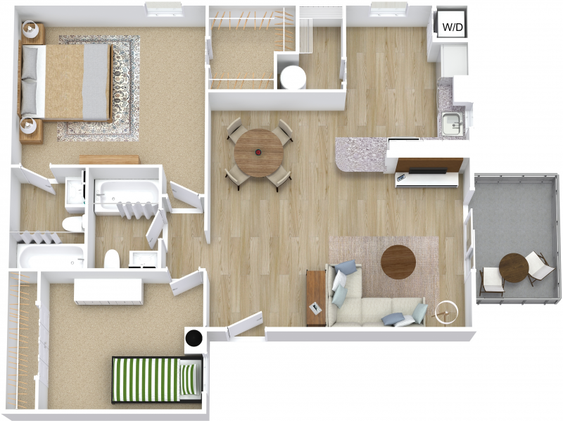 Two Bedroom A - Premier