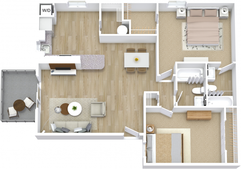 Two Bedroom B - Premier
