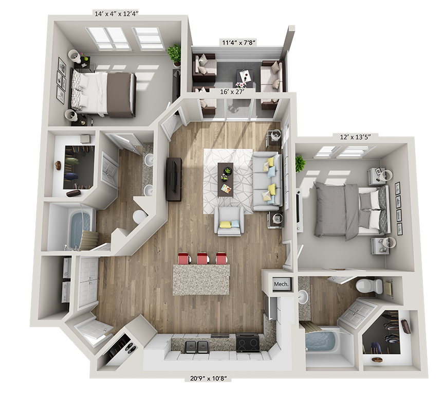 Floor Plans Of Gainesville Apartments For Rent