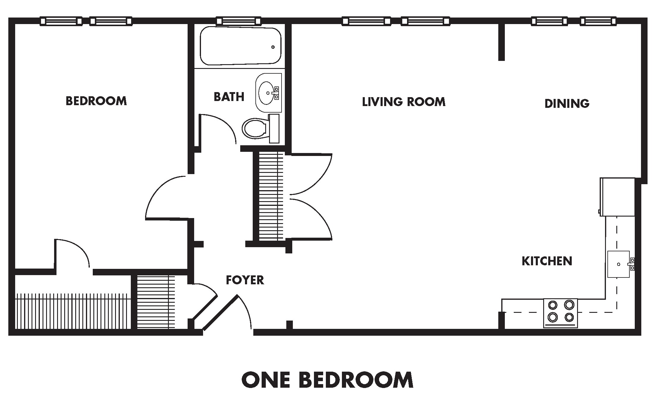 Renovated One Bedroom (Ap)