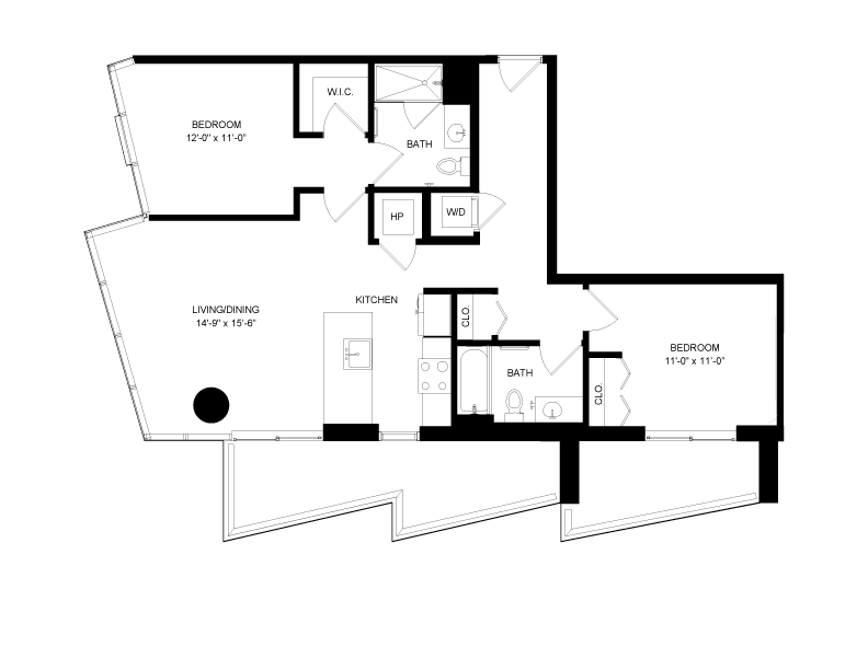 Floor plan image for residence number 1703