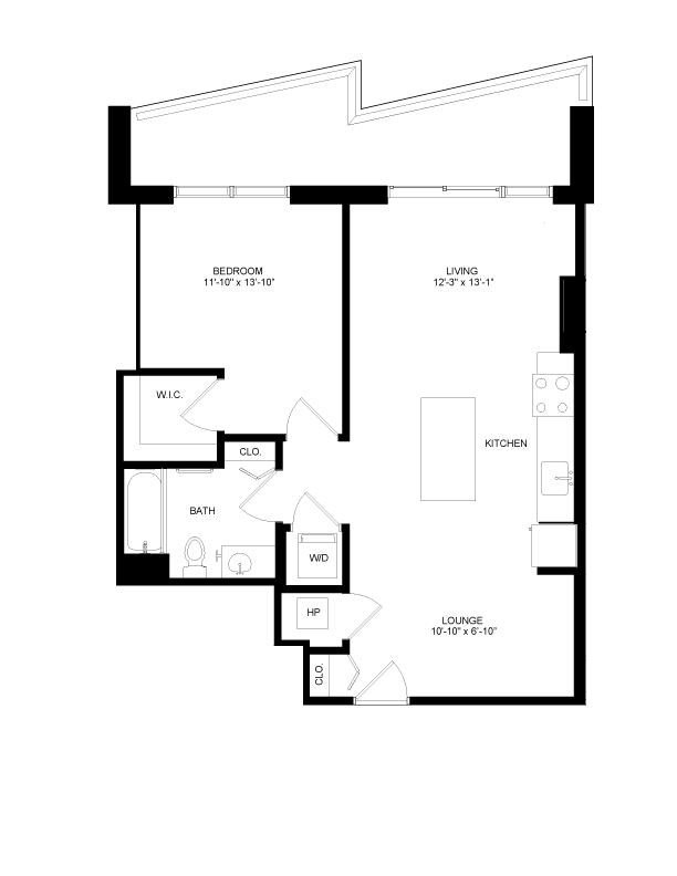 Floor plan image for residence number 0606