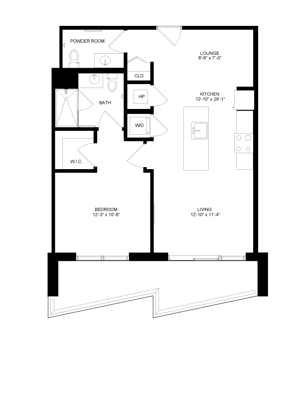 Floor plan image for residence number 0607