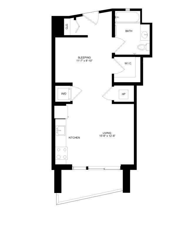 Floor plan image for residence number 2909