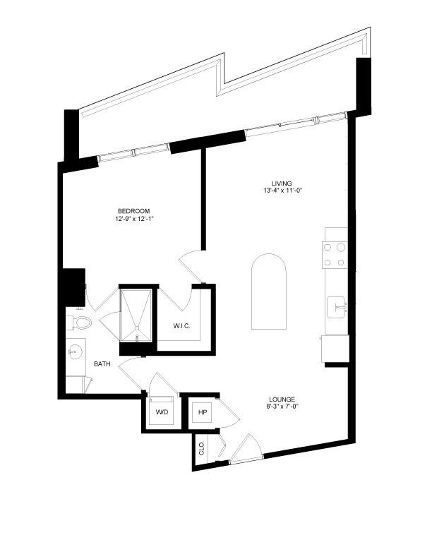 Floor plan image for residence number 0610