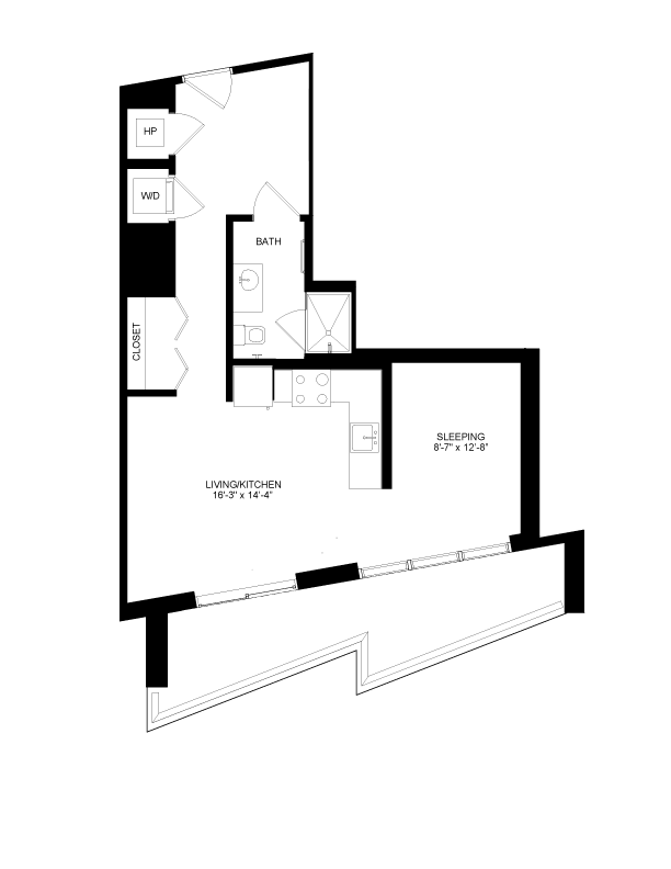 Floor plan image for residence number 2013