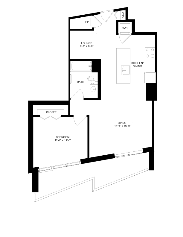 Floor plan image for residence number 1015