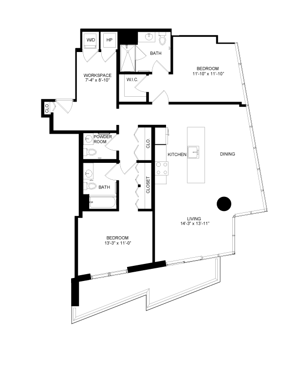 Floor plan image for residence number 2217
