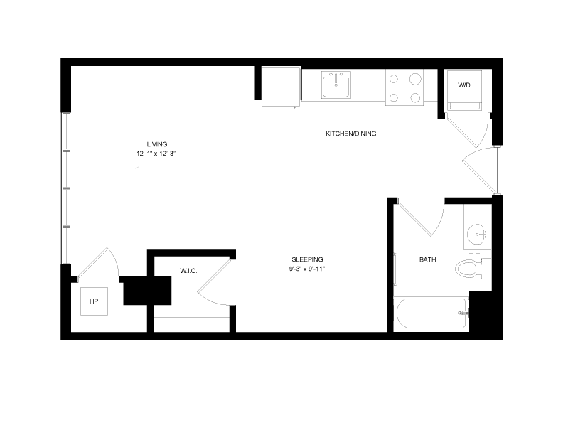 Floor plan image for residence number 0404