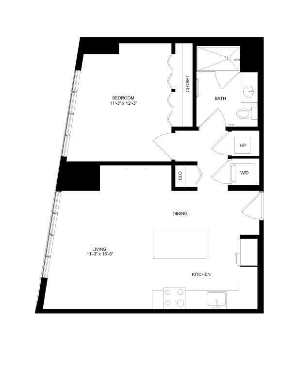 Floor plan image for residence number 0405