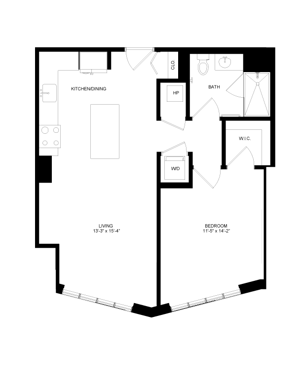 Floor plan image for residence number 0409