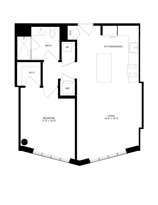 Floor plan image for residence number 0410