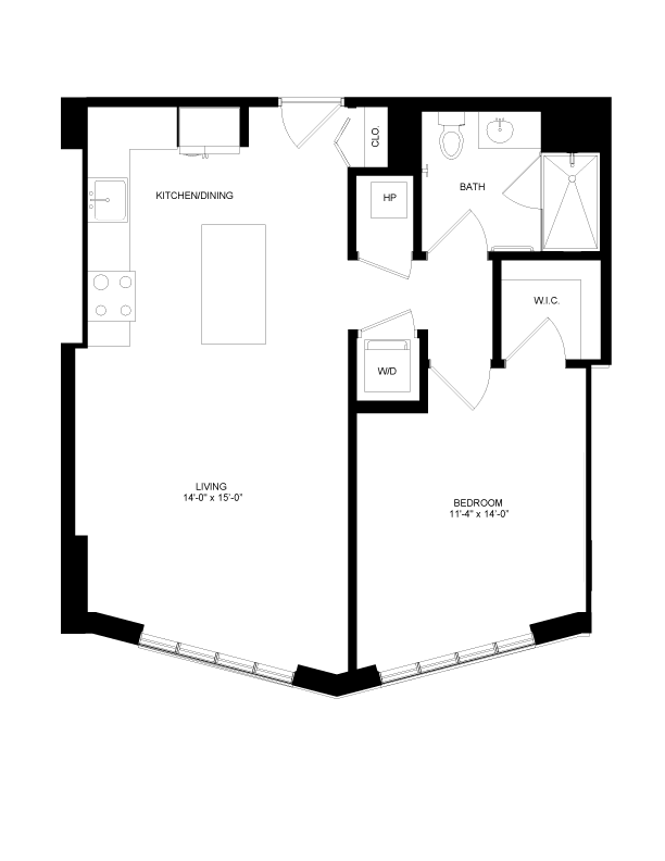 Floor plan image for residence number 0411