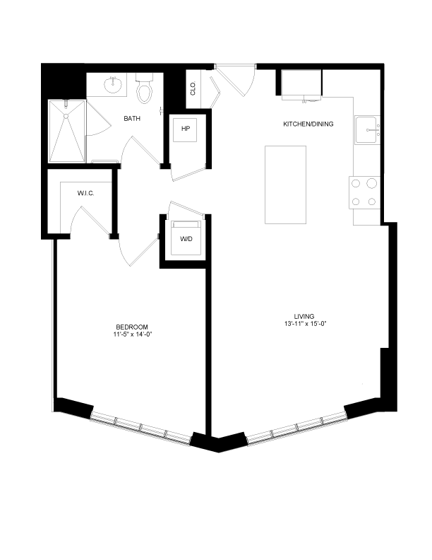 Floor plan image for residence number 0412