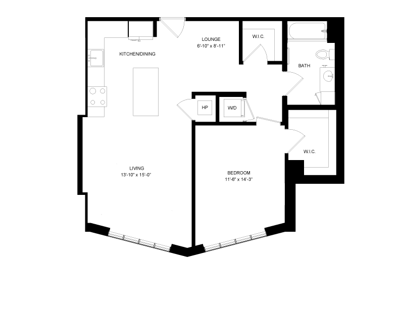 Floor plan image for residence number 0415