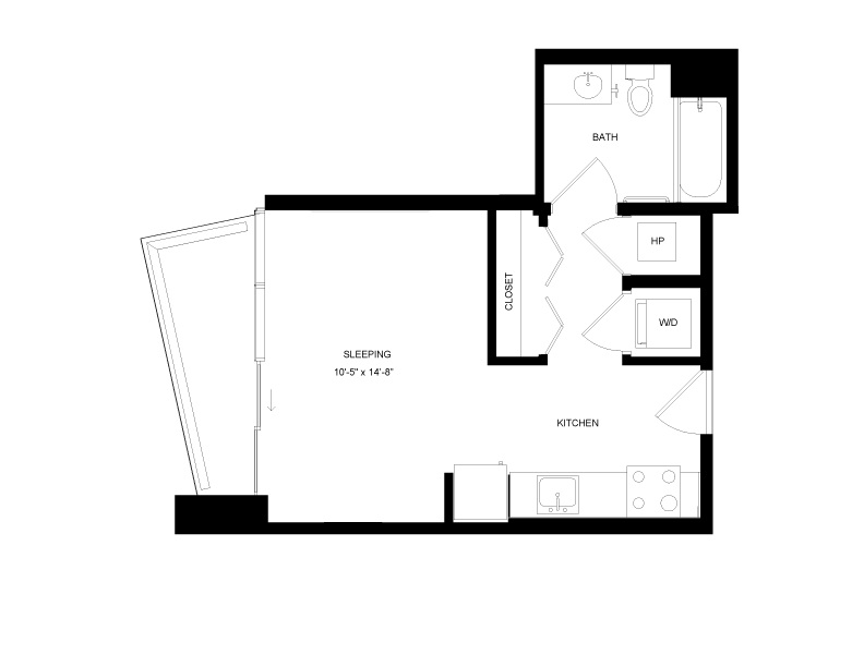Floor plan image for residence number 2101