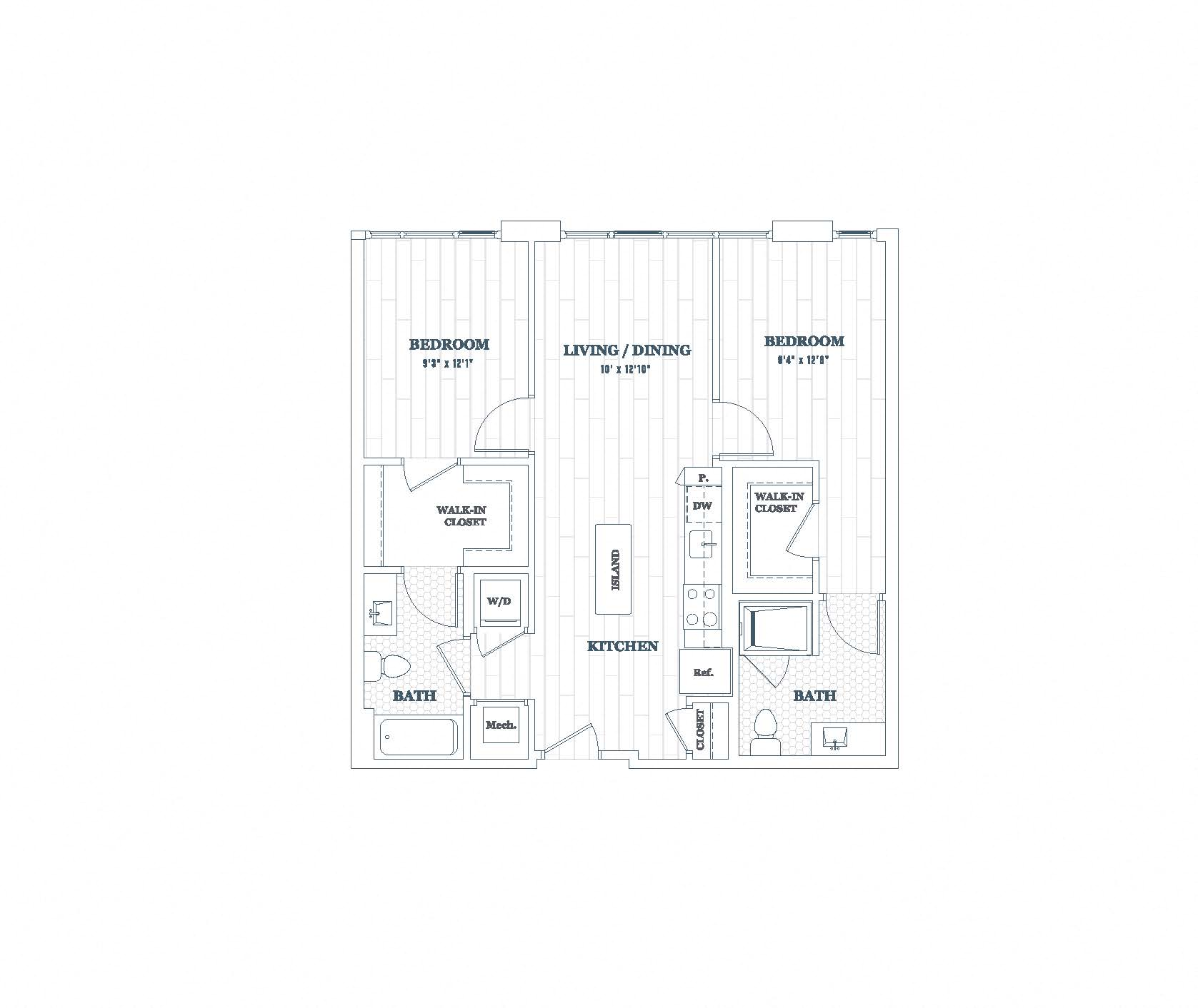 Income Restricted Apartments In Dc: Floor Plans Details