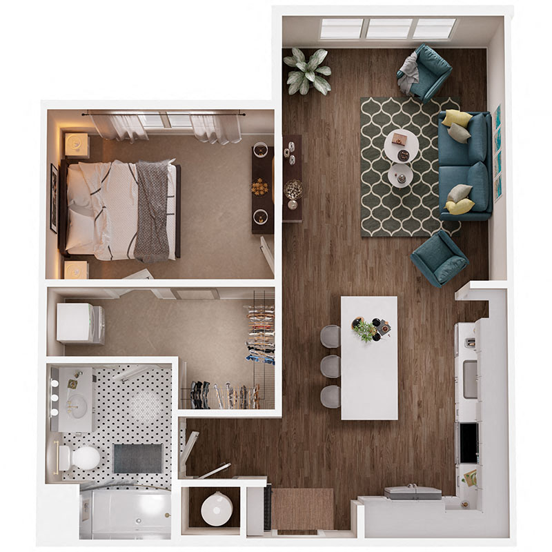 Floor Plan A1 Layout