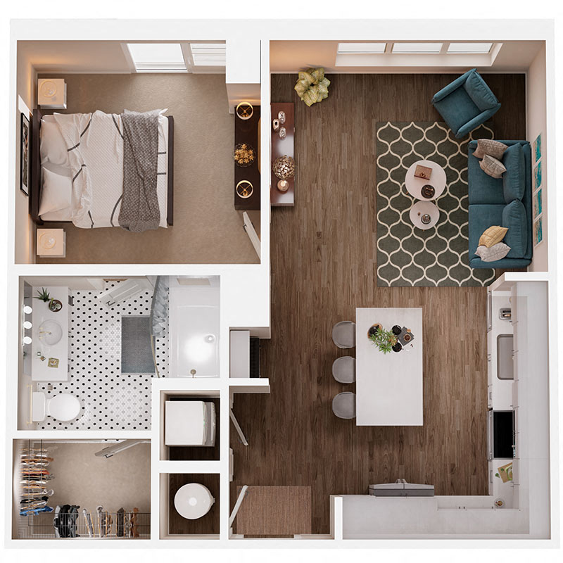 Floor Plan A4 Layout