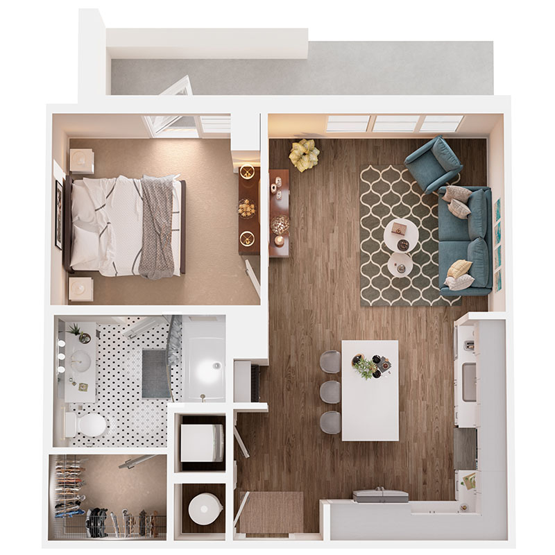 Floor Plan A4B Layout
