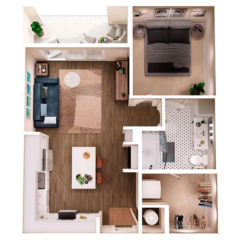 Floor Plan A5B Layout