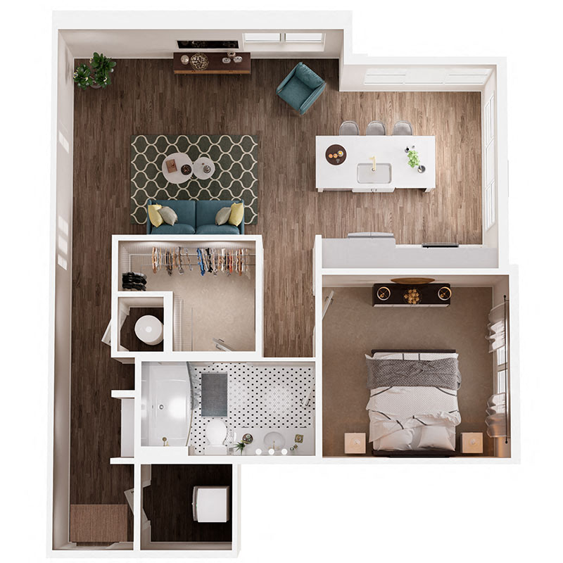 Floor Plan A6 Layout