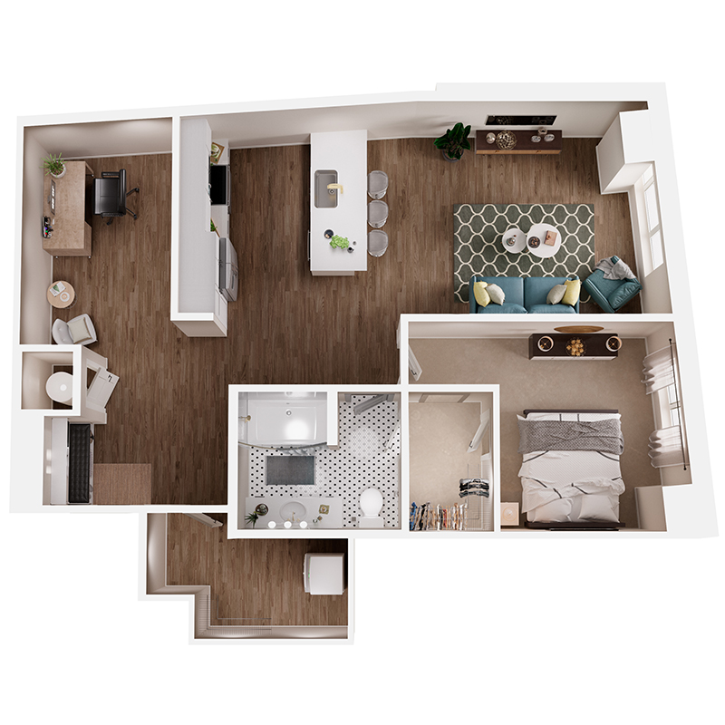 Floor Plan A8 Layout