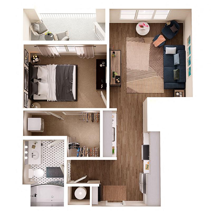 Floor Plan A9B Layout