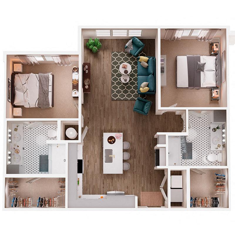 Floor Plan B1 Layout