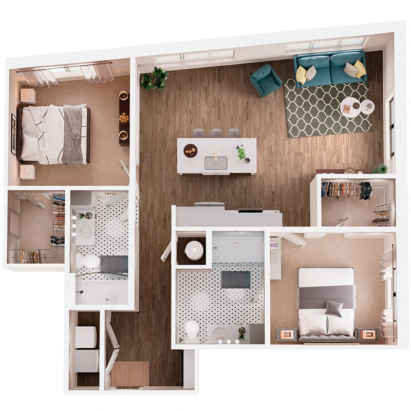 Floor Plan B5 Layout