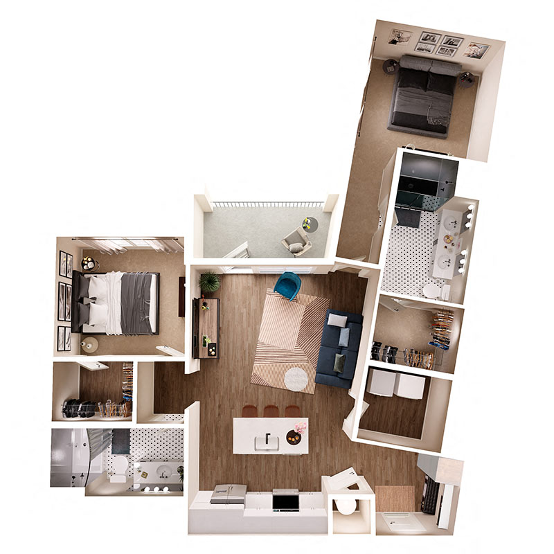 Floor Plan B9 Layout