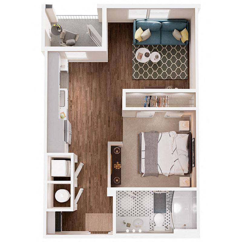 Floor Plan S1B Layout