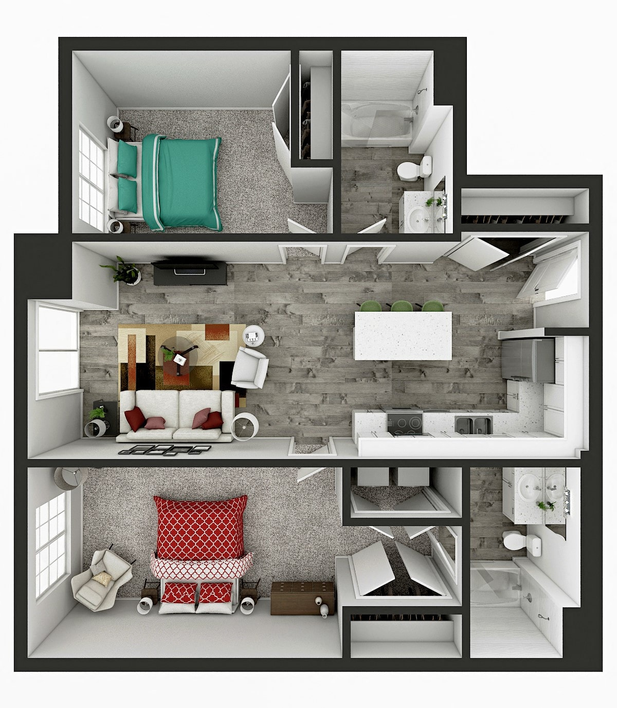 Hawthorne Floor Plan