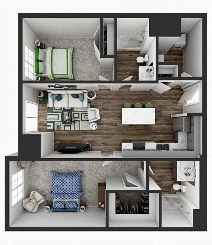 Sienna Floor Plan