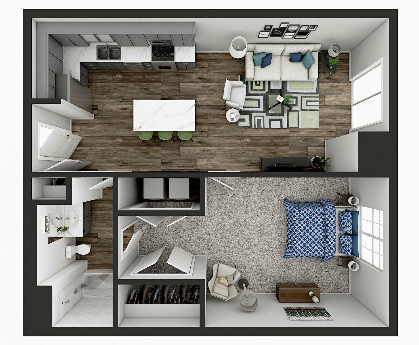 Linden Floor Plan