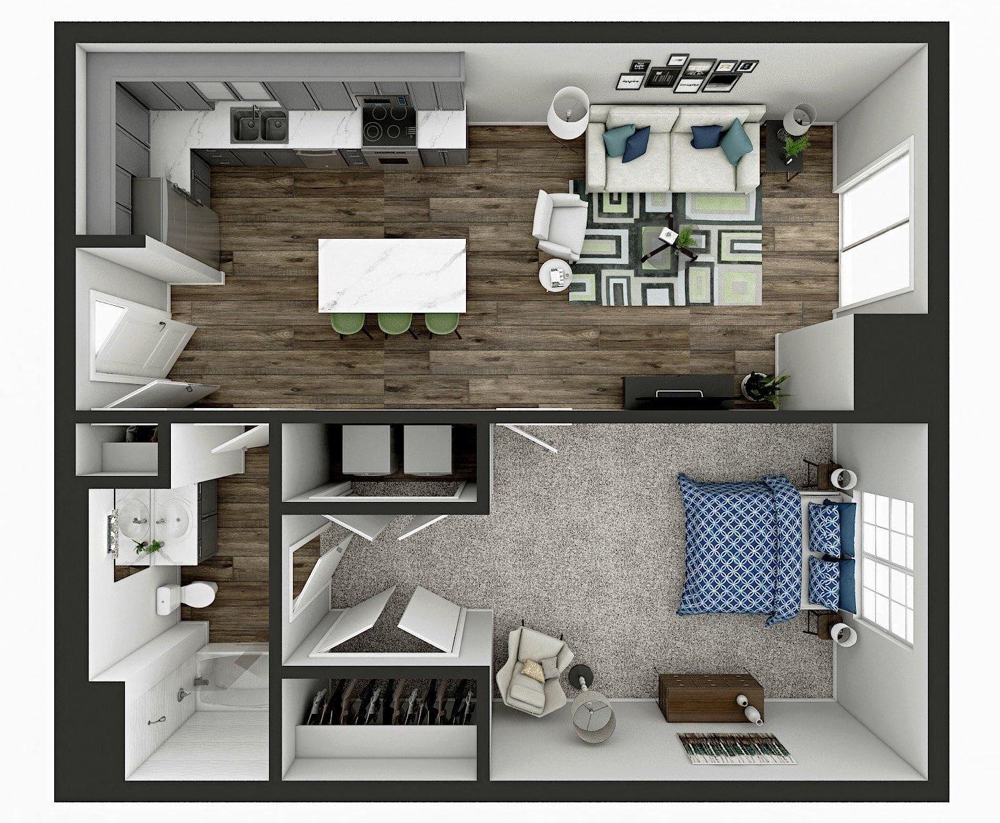 Linden Floor Plan
