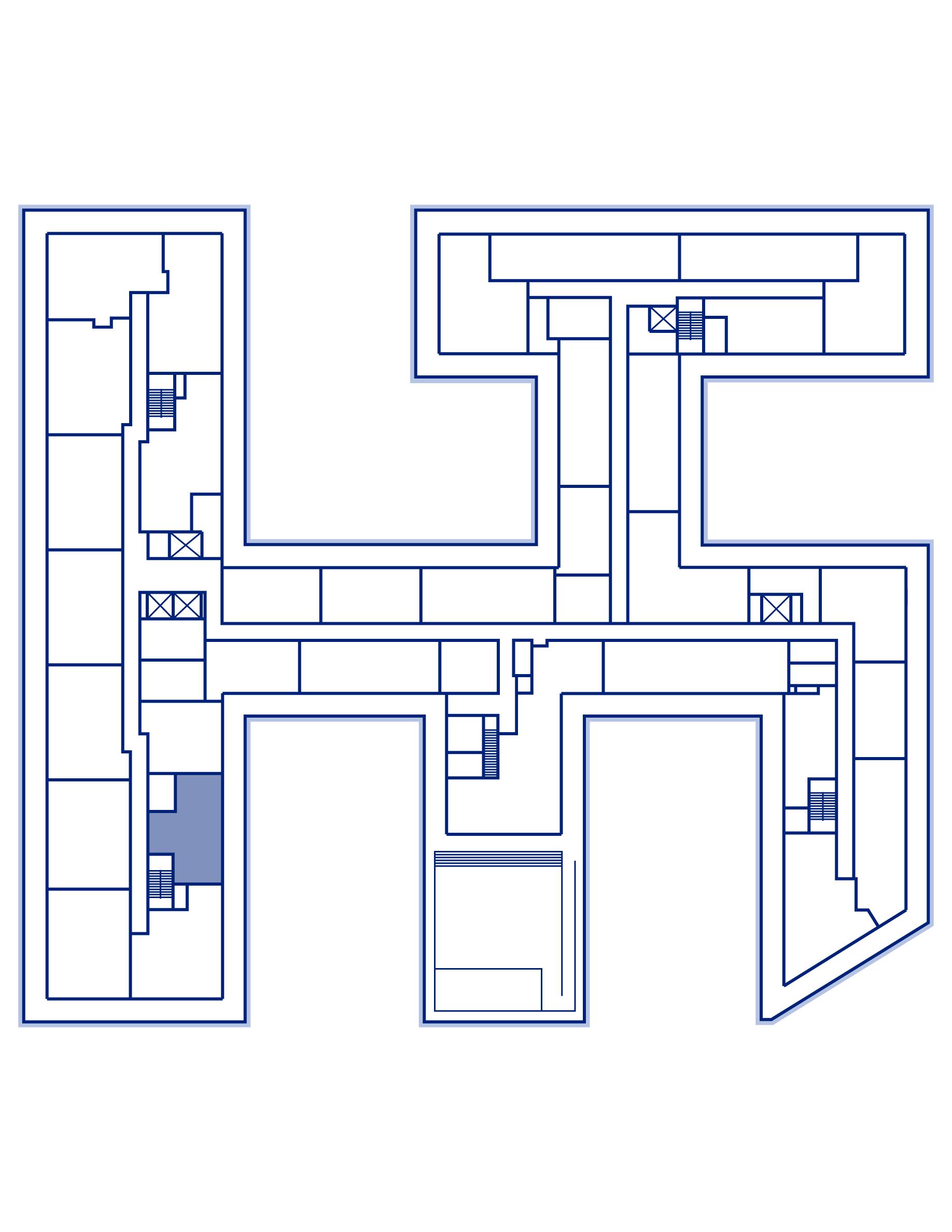 Residence PH22 keyplan