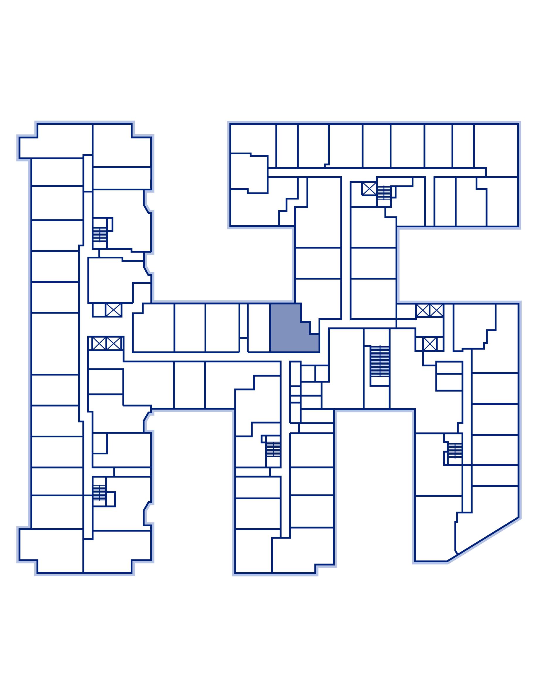 Residence 305 keyplan