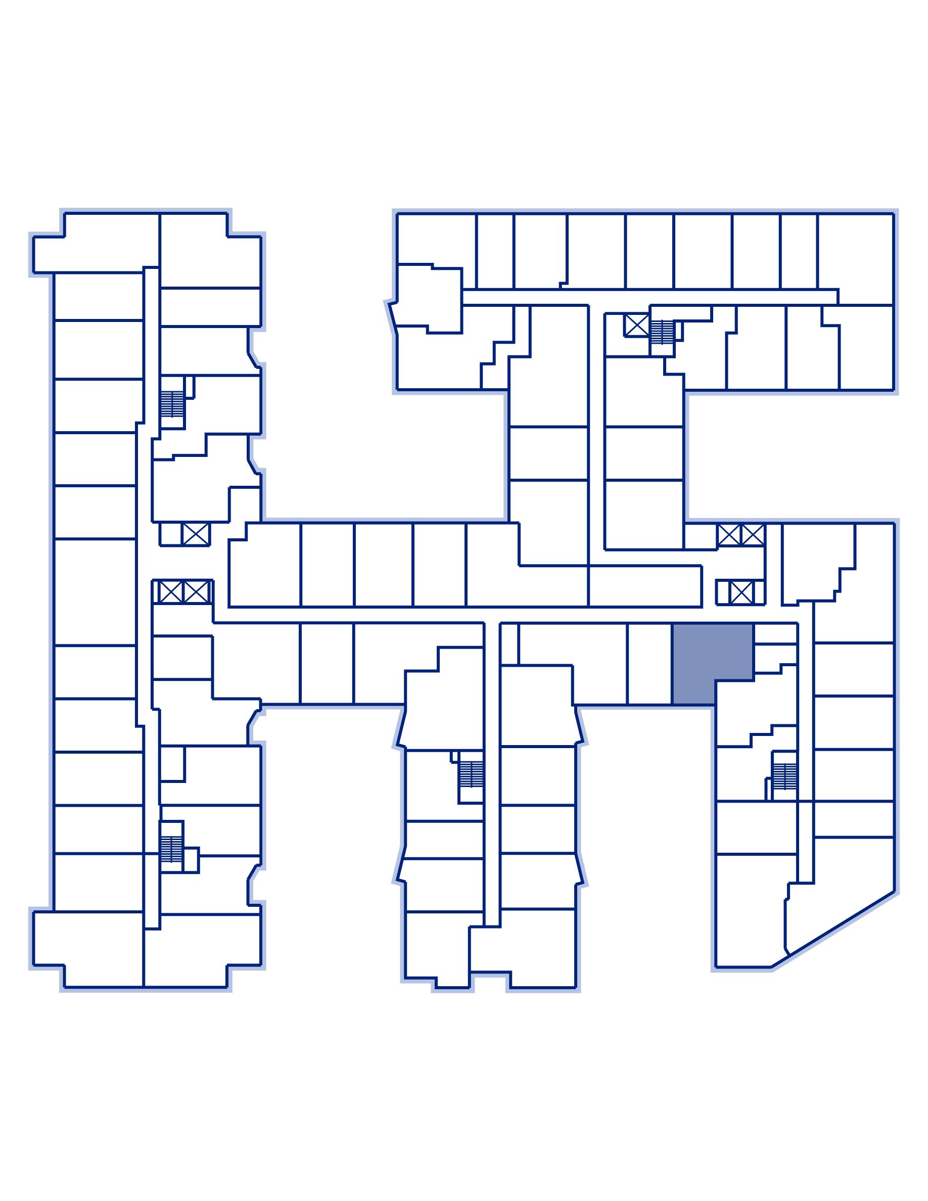 Residence 438 keyplan