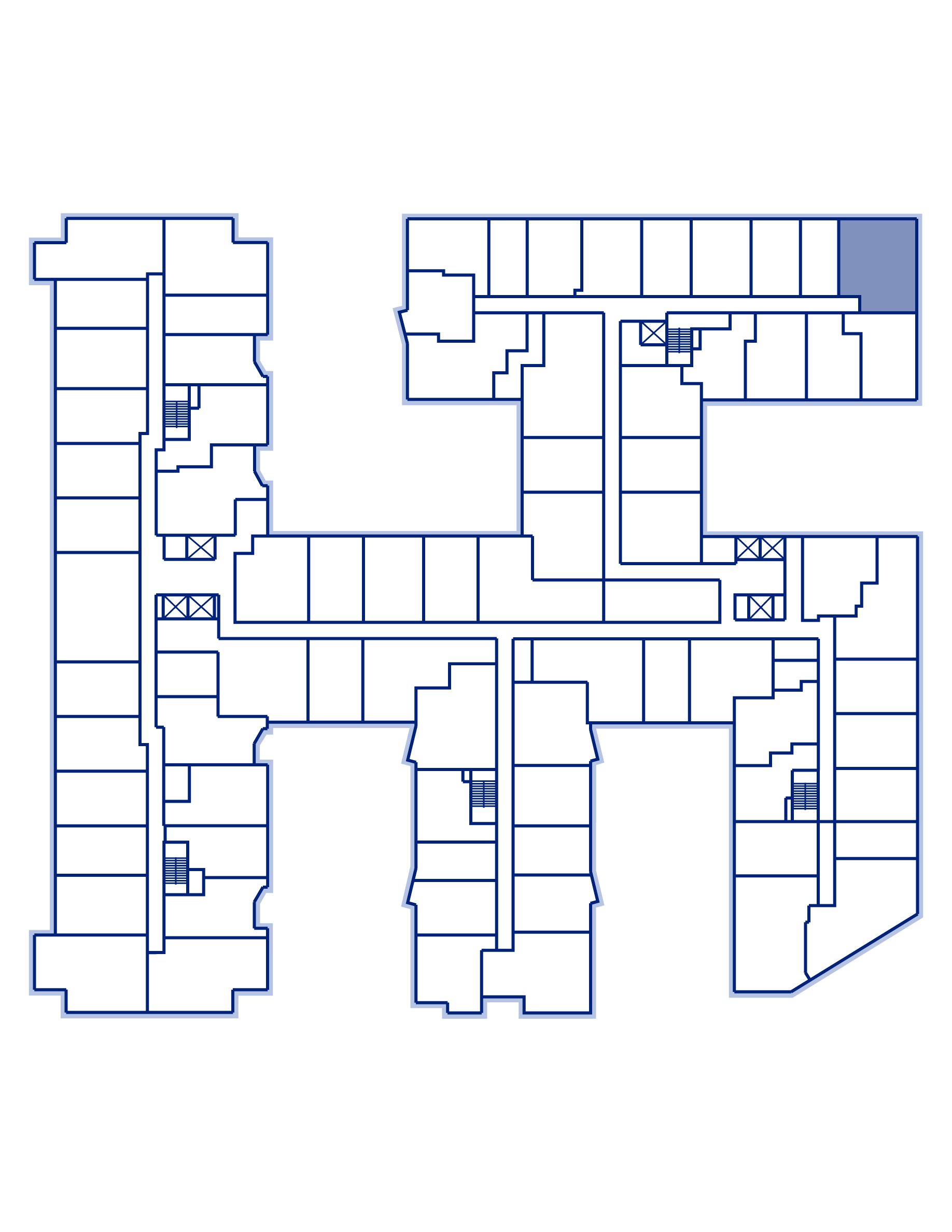 Residence 619 keyplan
