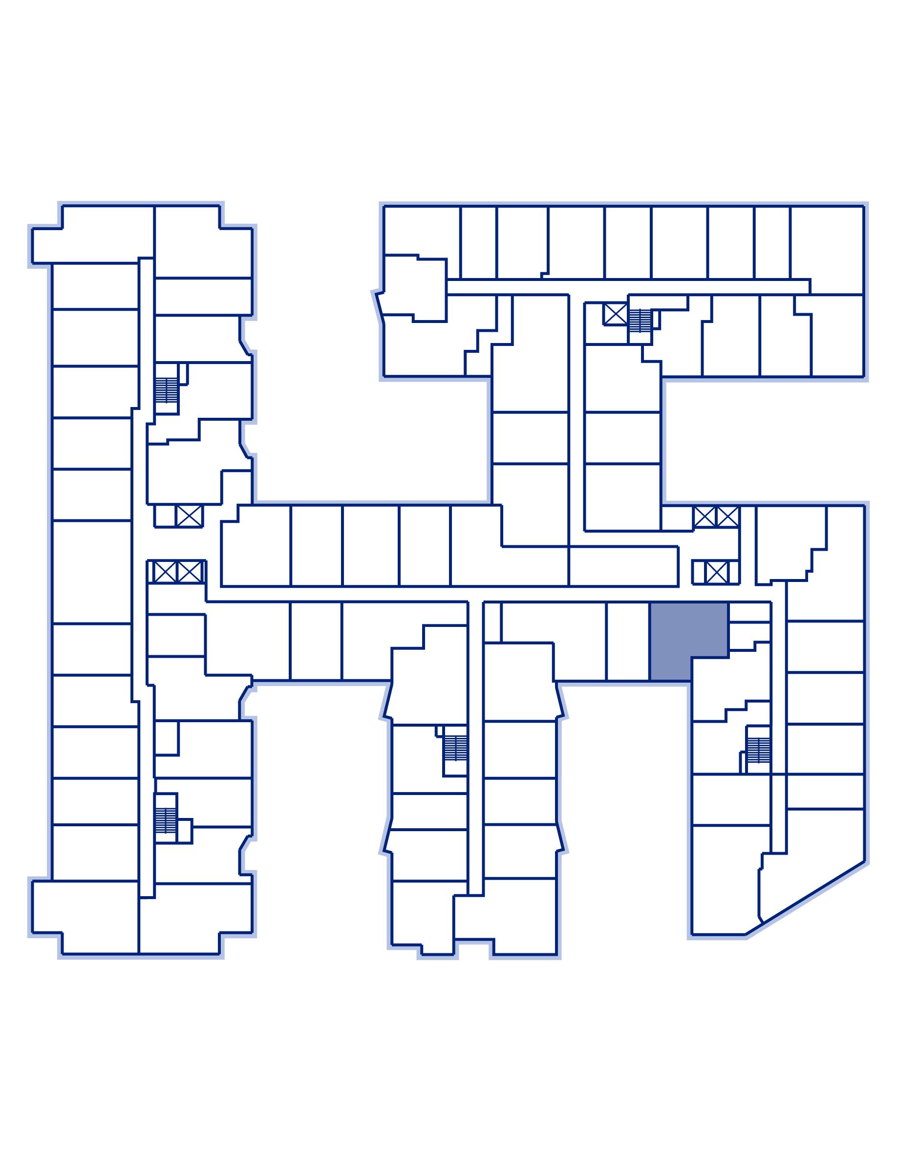 Residence 638 keyplan