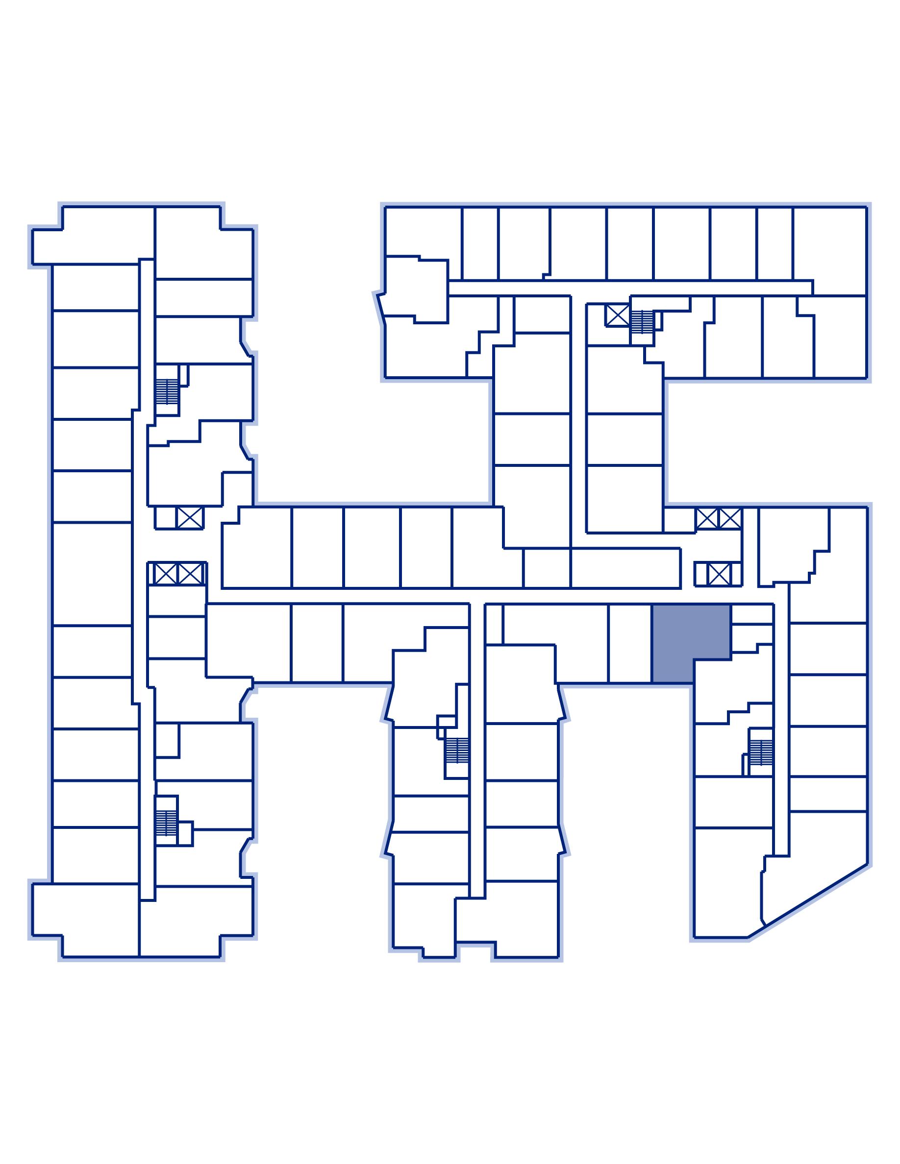 Residence 838 keyplan