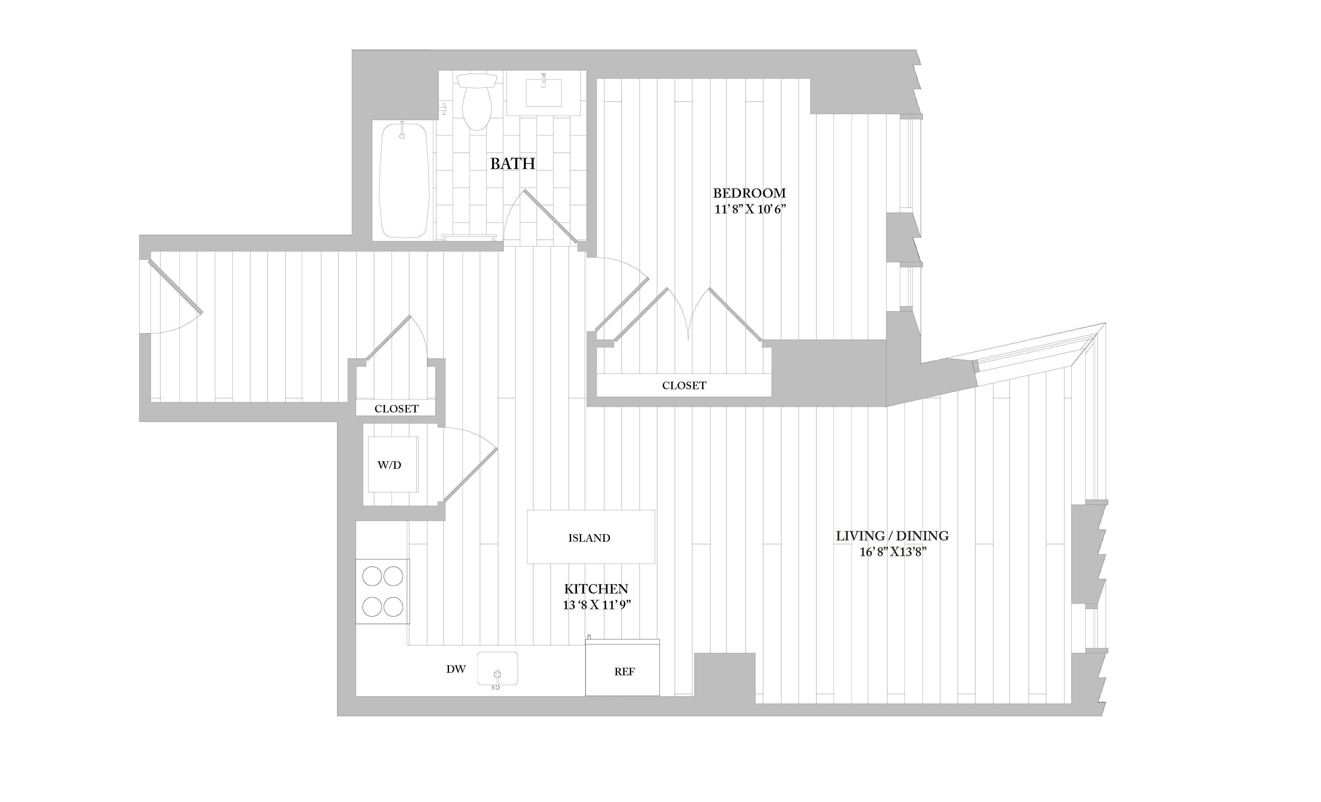 Apartment 0503 floorplan