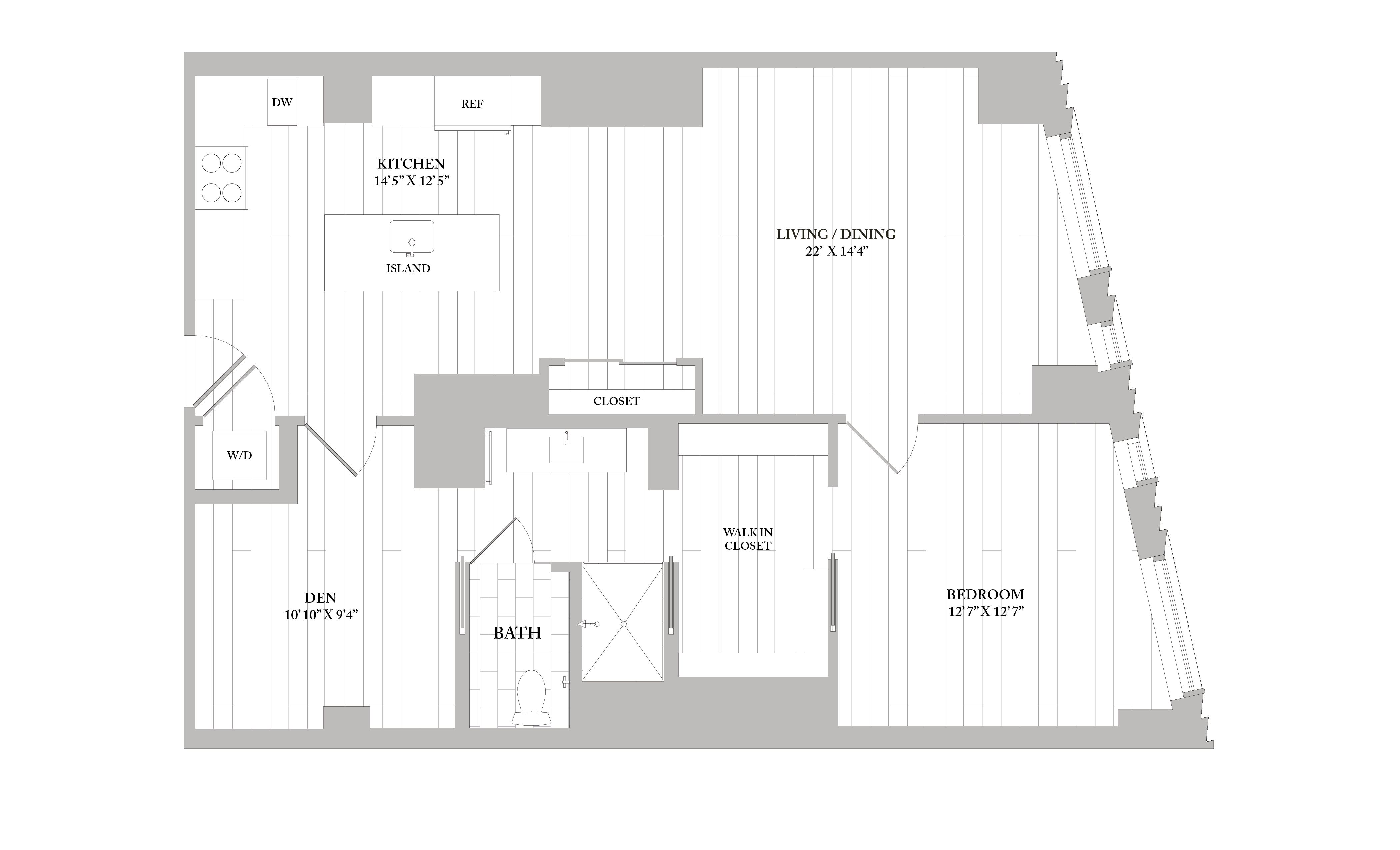 Apartment 3503 floorplan