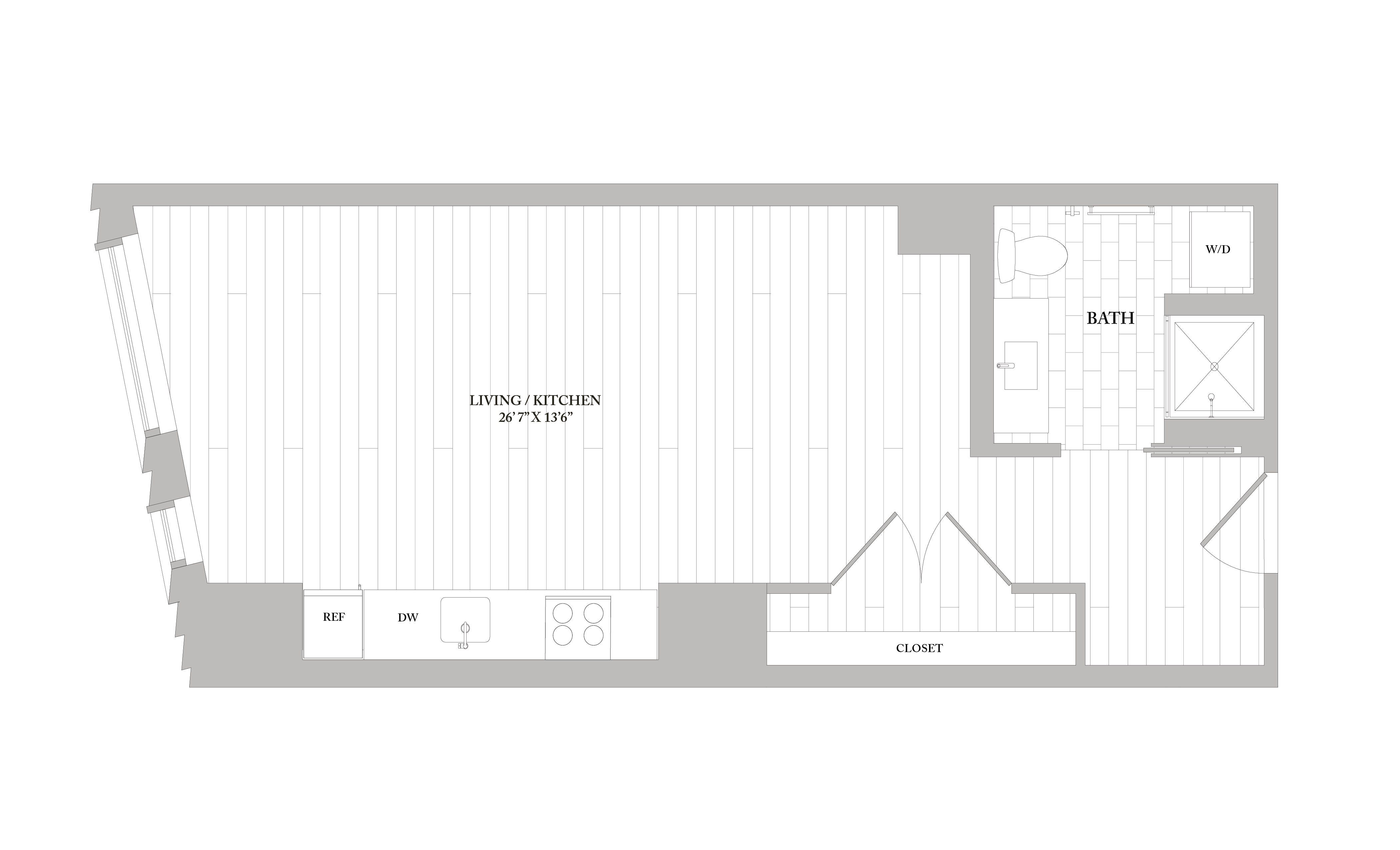 Apartment 0707 floorplan