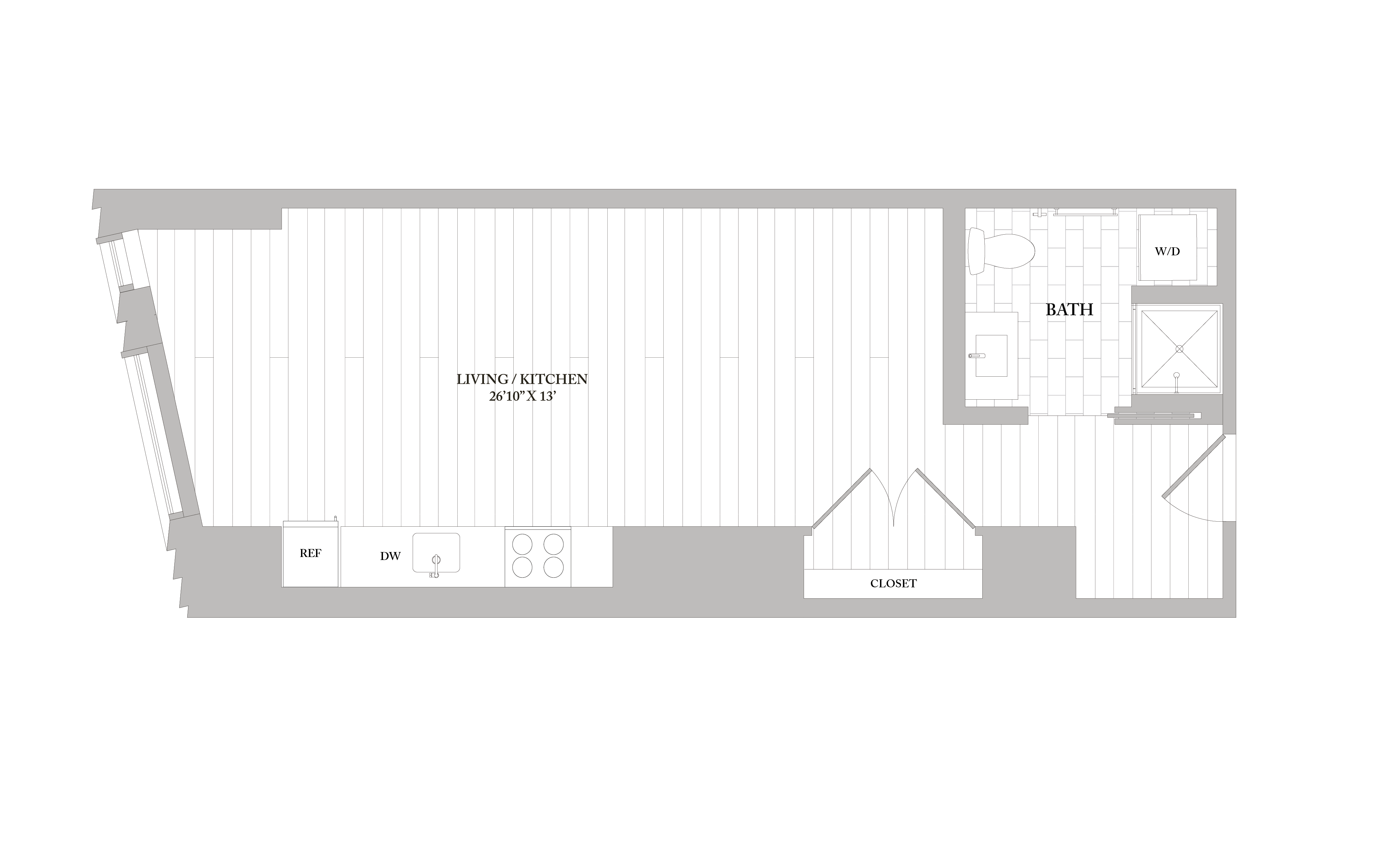 Apartment 1003 floorplan